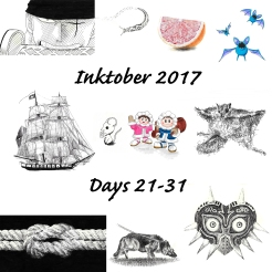 And my drawings from days 21-31